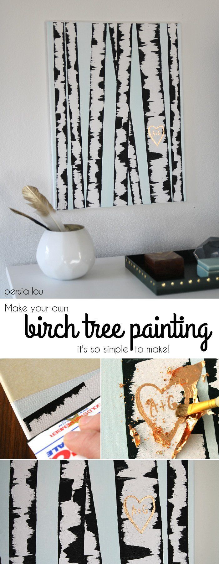 Easy Wall Art Ideas Easy diy crafts Diy wall art and Diy wall