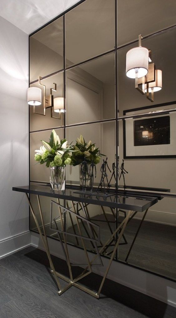 fun and creative ideas of wall mirrors in the hallway on ideas for decorating entryway contemporary wall mirrors id=19797
