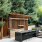 Beyond the barbecue streamlined kitchens for outdoor cooking