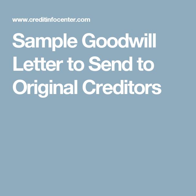Sample letter to creditors remove negative poemsrom sample goodwill letter to remove negative items send original creditors spiritdancerdesigns Gallery