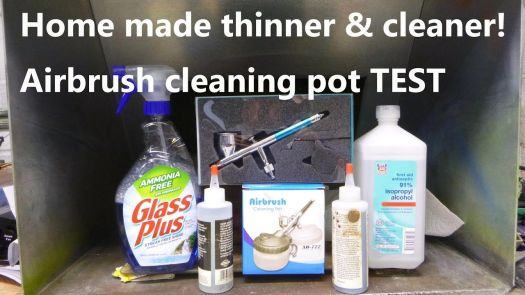 Home Made Airbrush Thinner Cleaner Station Unboxing Test