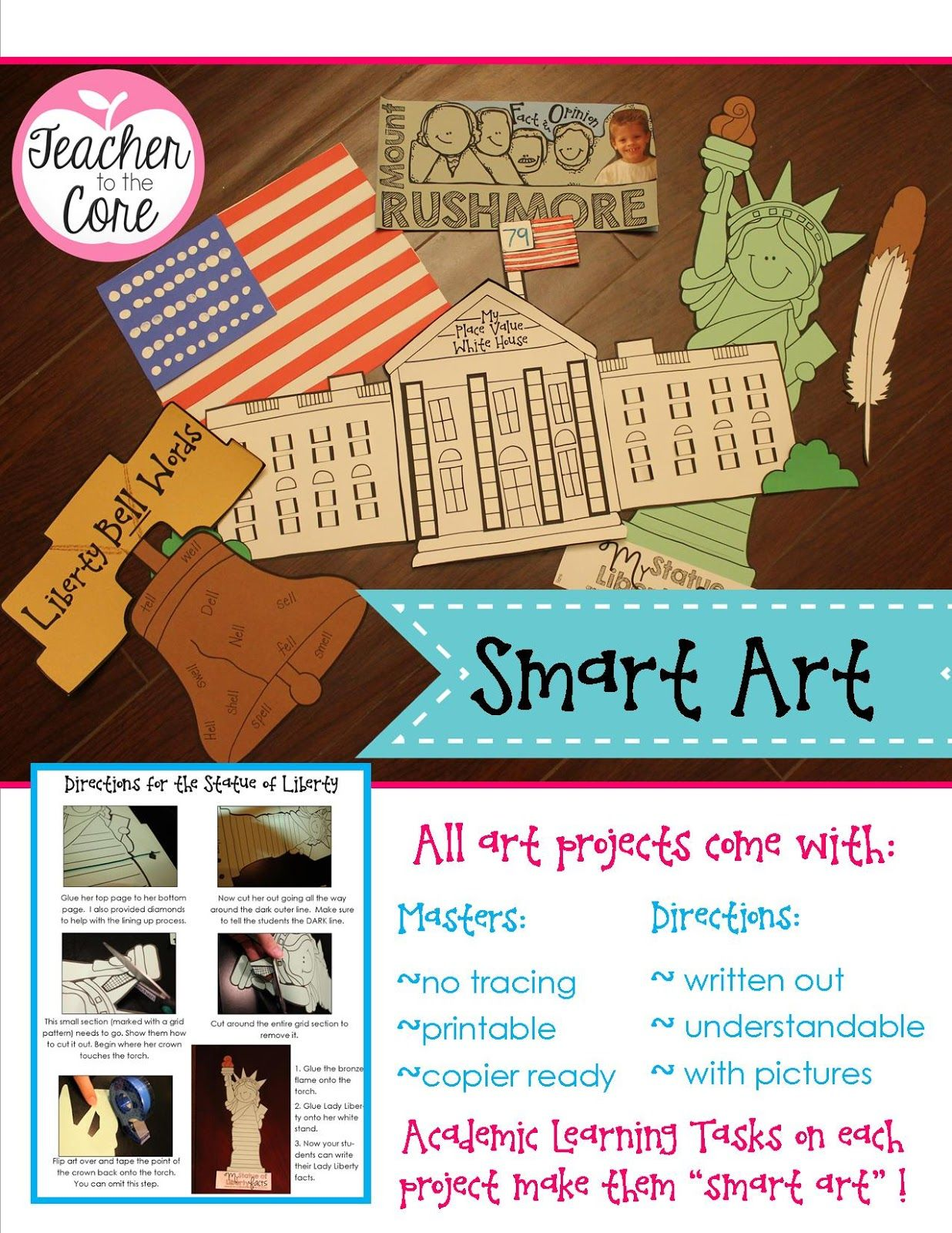 American Symbols Unit Everything Reading Writing And