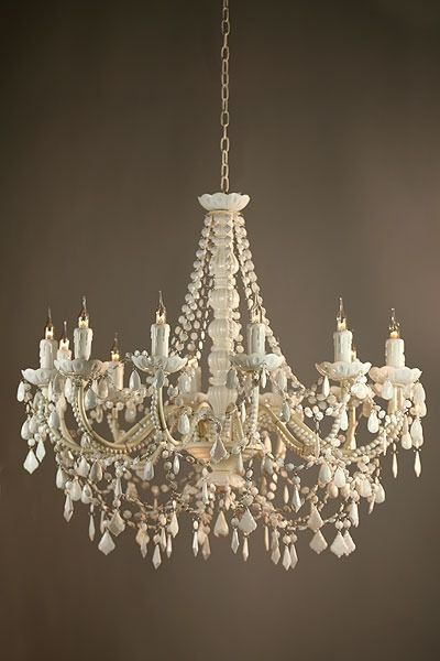 Marie Therese White Acrylic Chandelier 12 Arm Ach8033 12h Wh