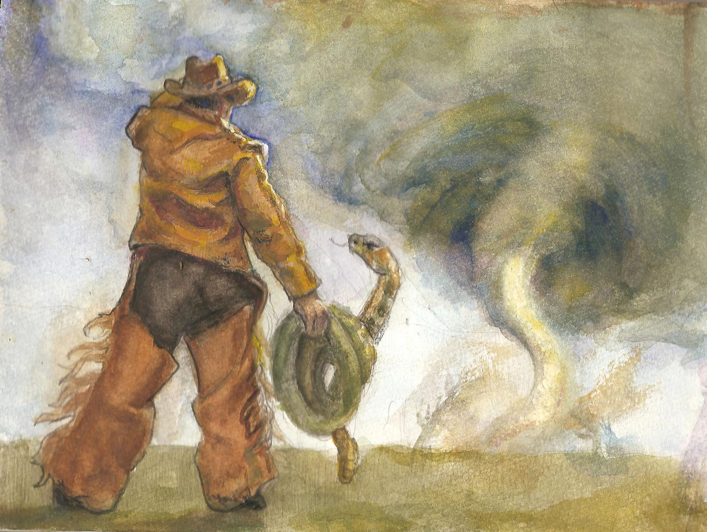 Pecos Bill American Cowboy Apocryphally Immortalized In