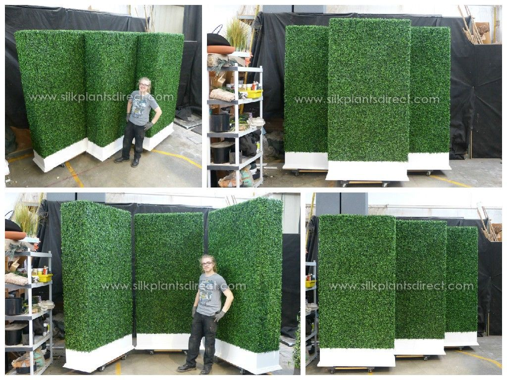 permaleaf boxwood hedge wall privacy screen mpilos on interior using artificial boxwood panels with flowers id=29528