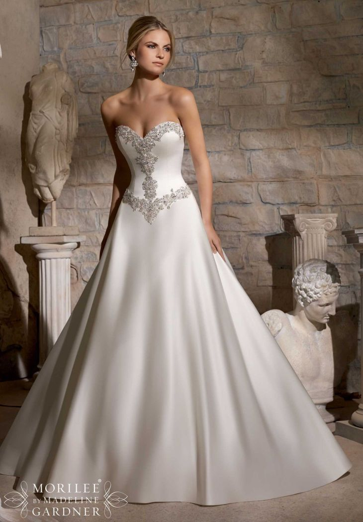 Mori Lee    All Dressed Up Bridal Gown  Mori lee Beaded