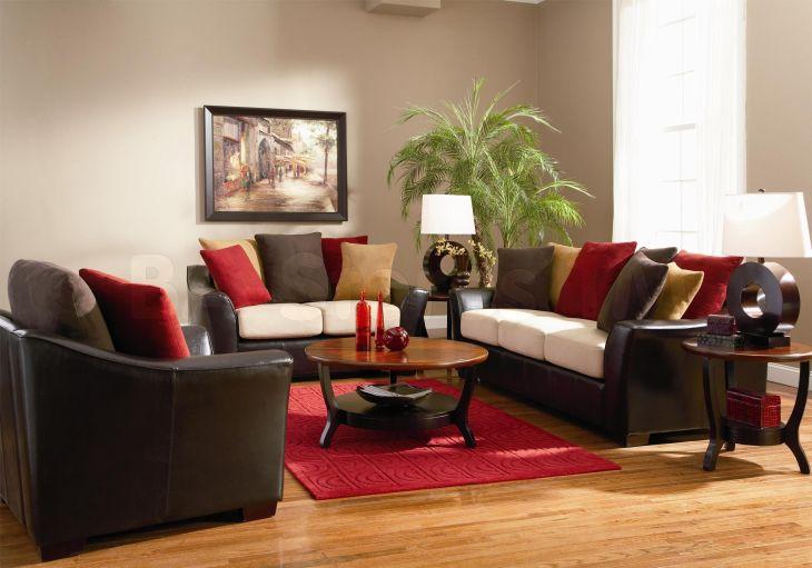 Chocolate Brown Leather Sofa Decorating Ideas tmidb