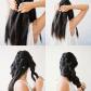 Diy beautiful big braid step by step hair tutorial dark hair