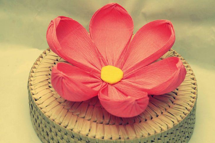 Big Handmade paper flowersCrepe paper flowersWedding and Home