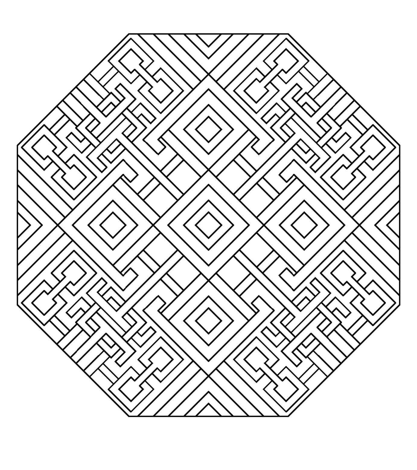 Art Deco Mandala