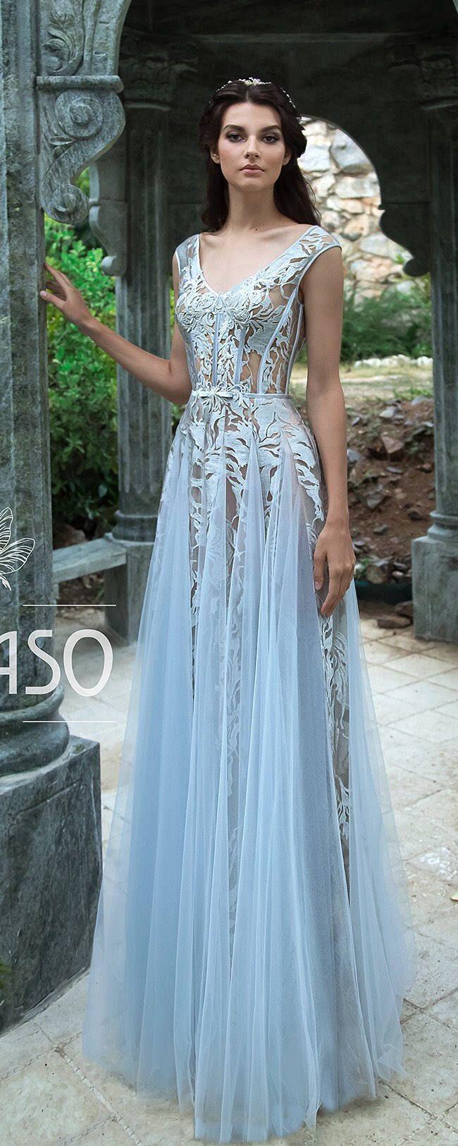 Bohemian ALine Wedding Dresses Lace Short Cap Sleeve VNeck Open