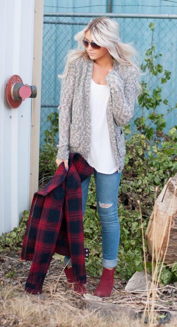 sweaters  flannels  fasion  Pinterest  Flannels