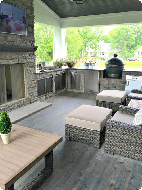 outdoor living space attached to the house many many ideas of additions outdoor on outdoor kitchen and living space id=39473