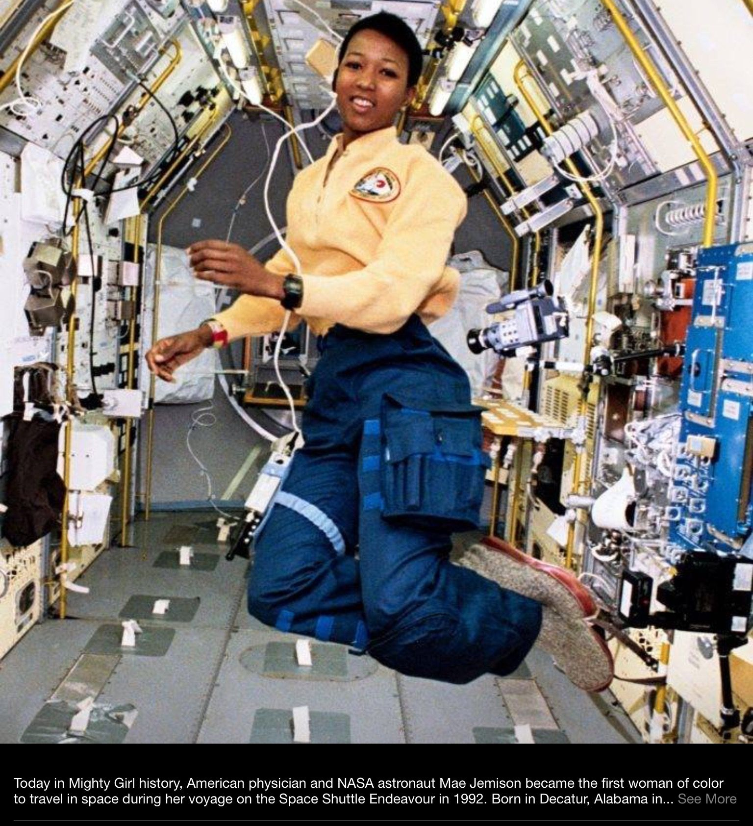 American Physician And Nasa Astronaut Mae Jemison Became