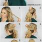 Braid wrapped bubble ponytail t pinterest bubble ponytail