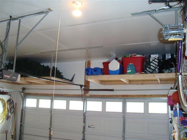 inspiring garage overhead storage diy workshop on inspiring diy garage storage design ideas on a budget to maximize your garage id=38660