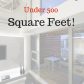 highend apartment design ideas for a space under square feet