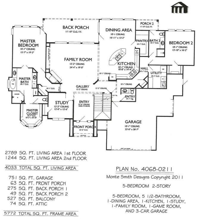 2 Story 4 Bedroom 5 1 Bathroom Dining Area