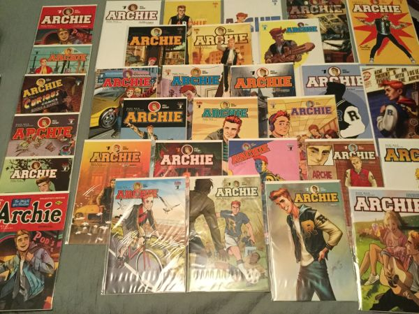My personal (incomplete) collection of the new Archie 1 ...