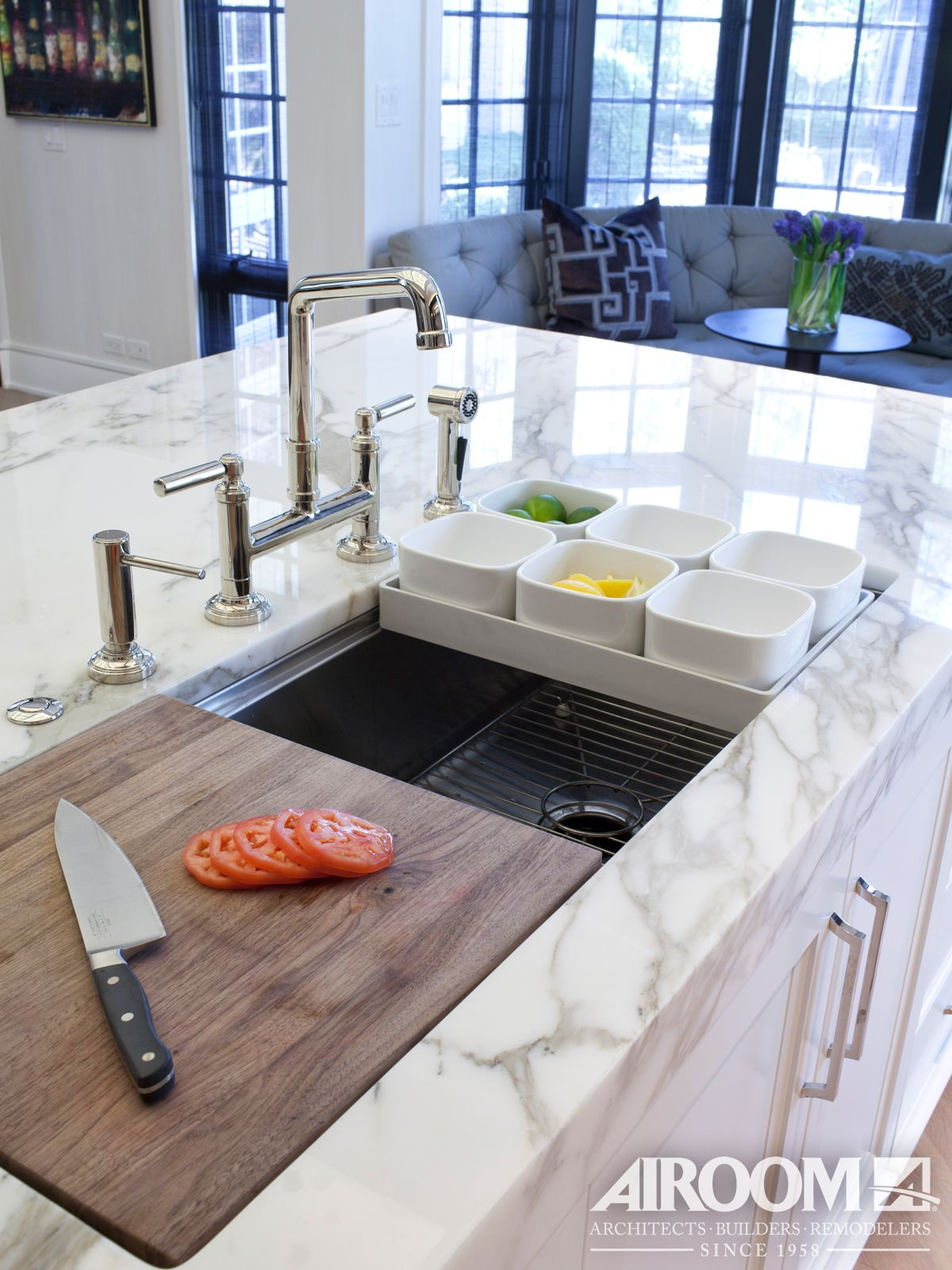 no kitchen remodel is complete without a new kitchen sink this winnetka kitchen remodel takes on kitchen remodel no island id=52160