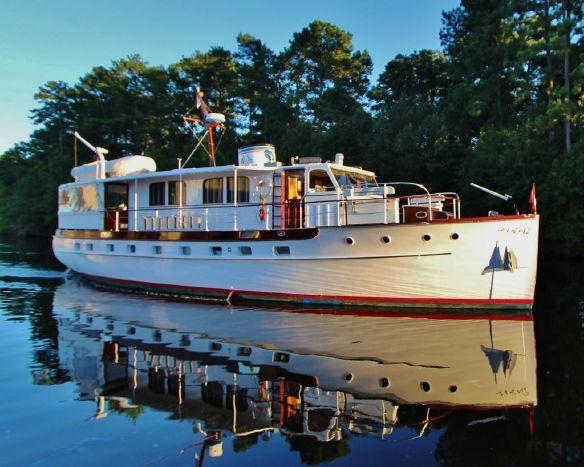 1939 Trumpy 61 House Boat Power Boat For Sale Www