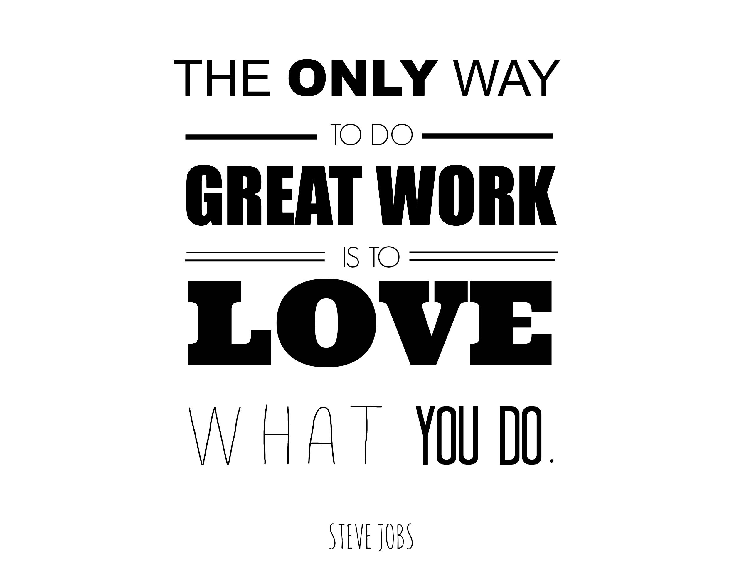 Typography, Steve Jobs And Do