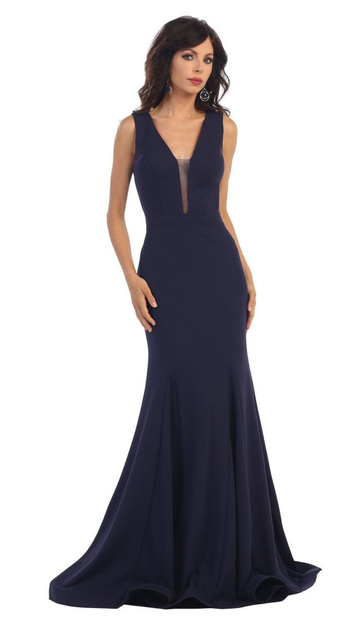 Long Fitted Prom Formal Dress Prom Mermaid and Homecoming