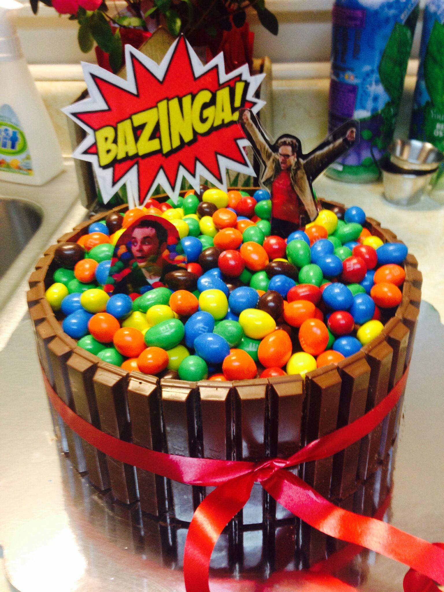 Big Bang Theory Birthday Cake