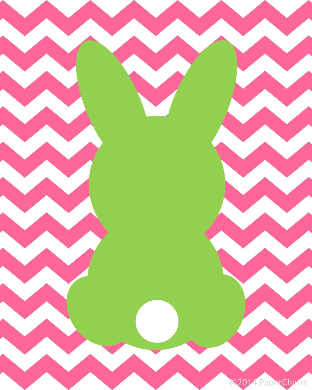 Free Bunny Printable Easter Art Fun And Colorful Printable For Easter