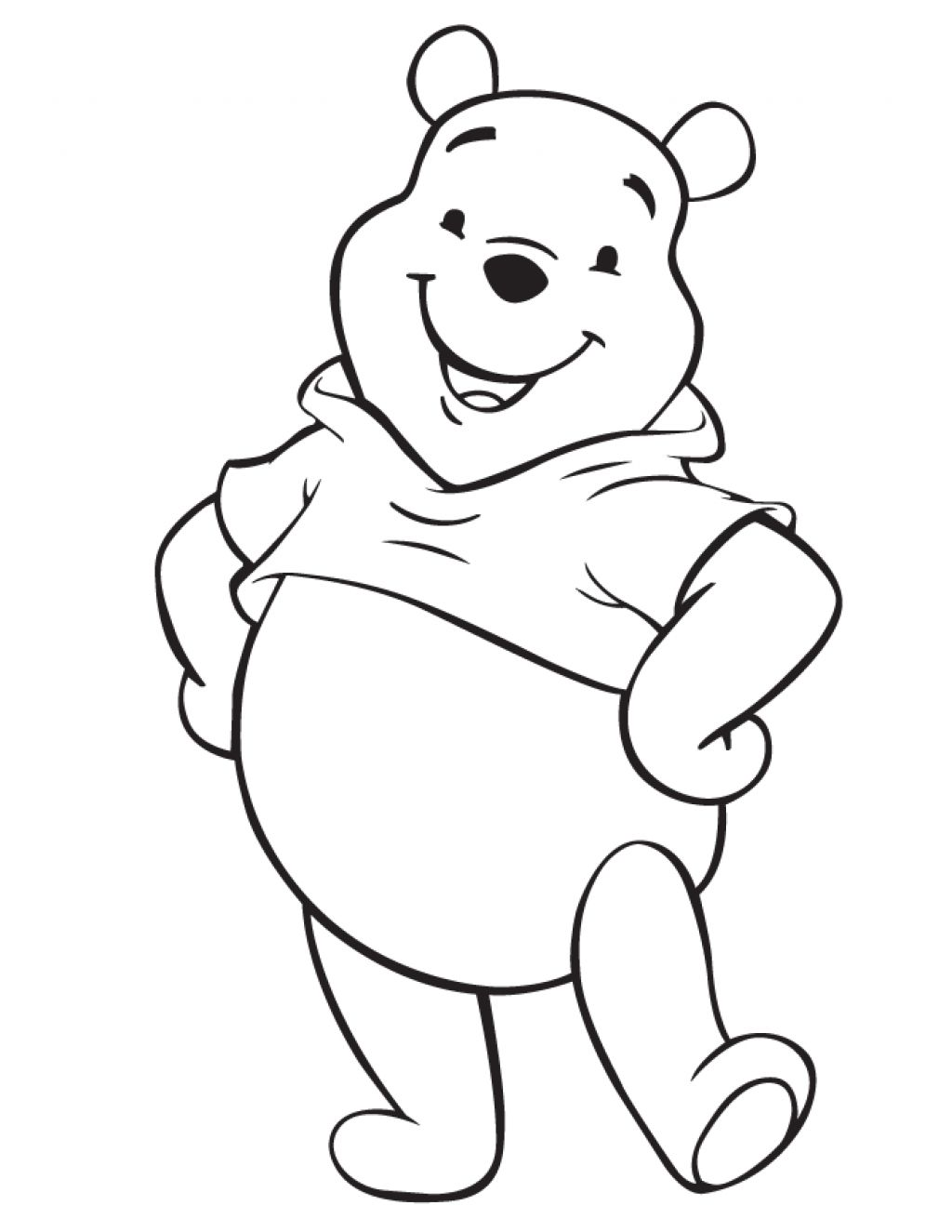 Disney Characters Coloring Pages Easy Baby Disney Cartoon Characters