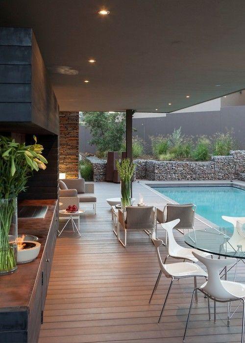 perfect outdoor entertainment area | Luxurious Homes ... on Garden Entertainment Area Ideas id=23949