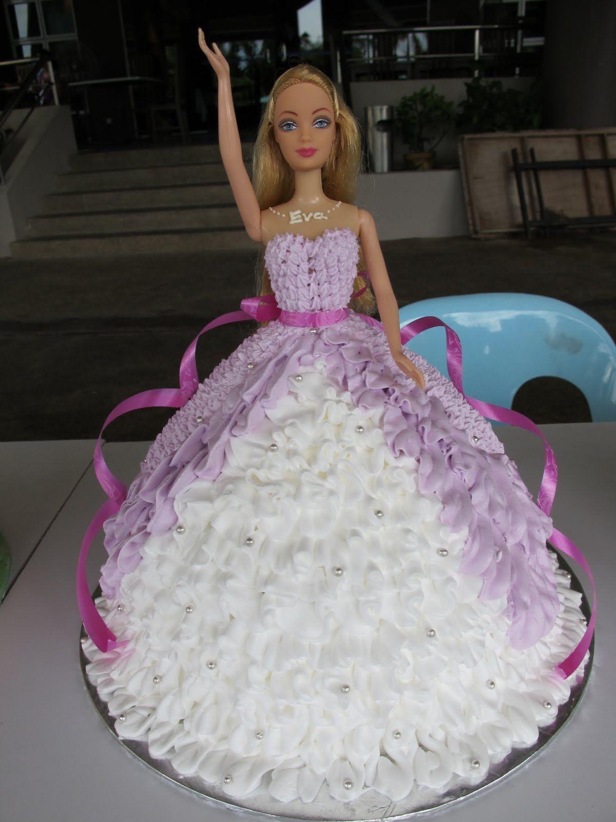 Homemade Barbie Cake Ideas
