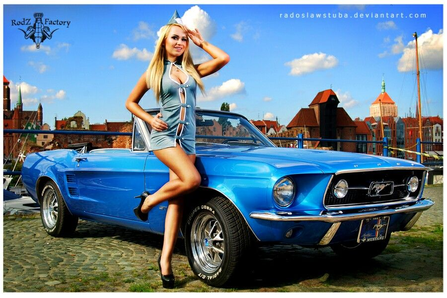 Mustang Pin Up Girls Pinterest Mustang And Cars