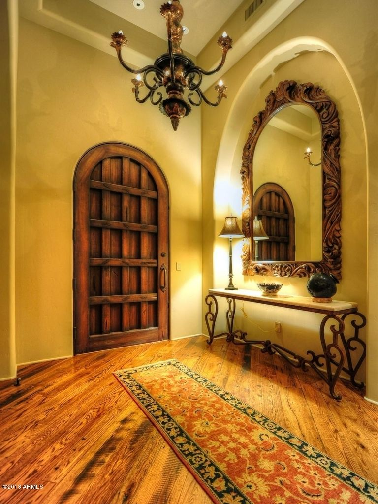Welcoming Mexican Entry Hall Spanish Hacienda