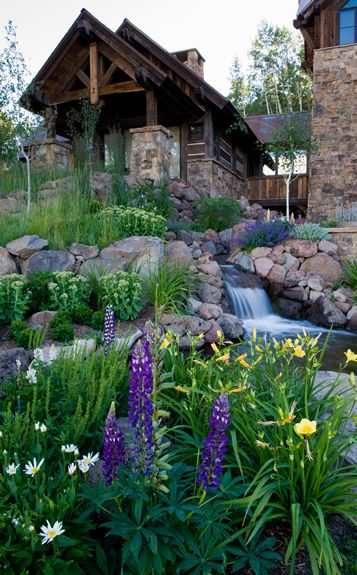 Mountain-type landscaping for out yard! Crested Butte ... on Mountain Backyard Ideas  id=87939