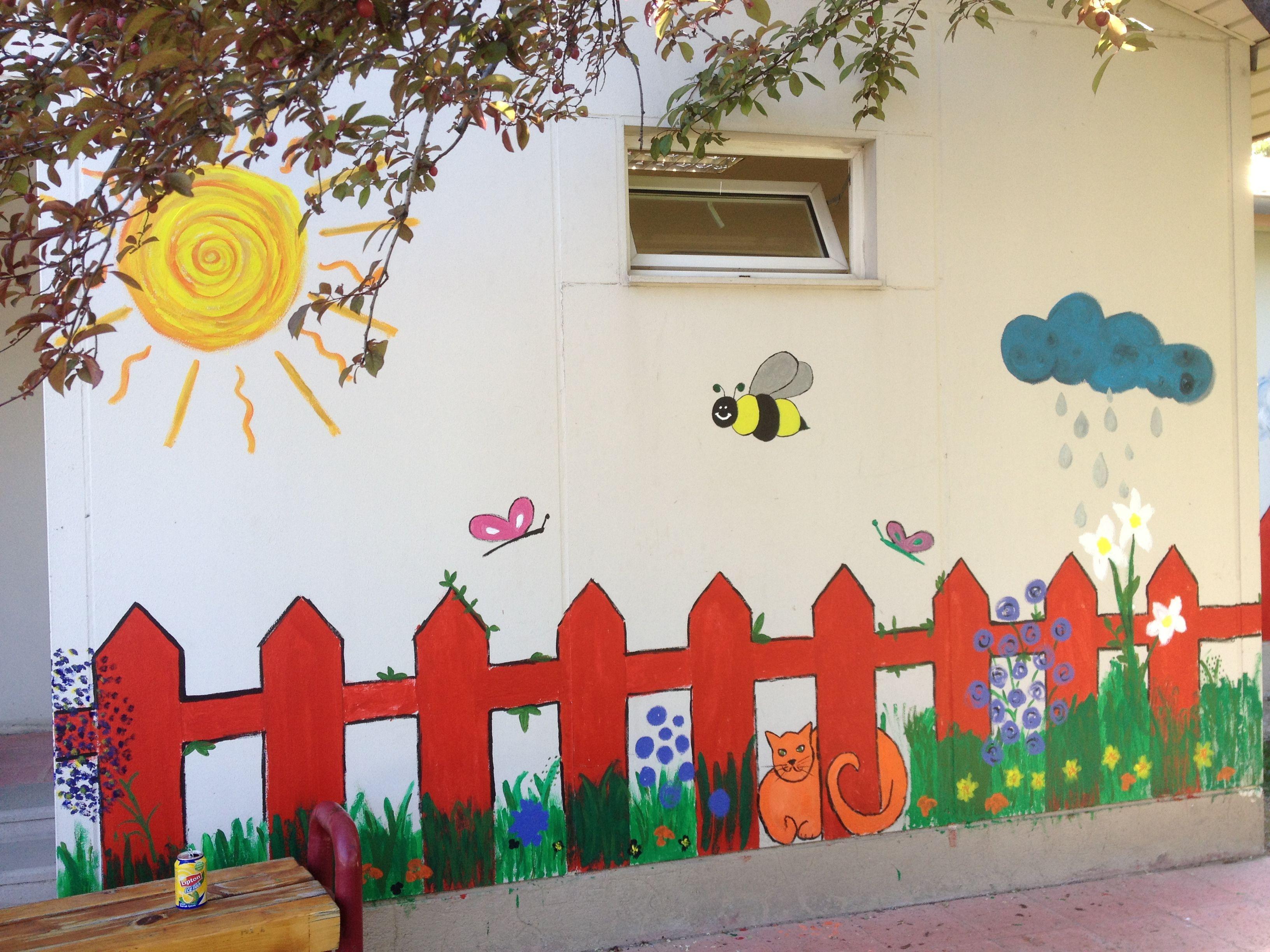 Wall Painting Kindergarten