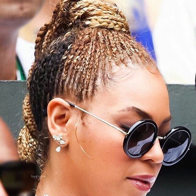 Braided Beyonce Is Our Fave We Love Celeb Hair
