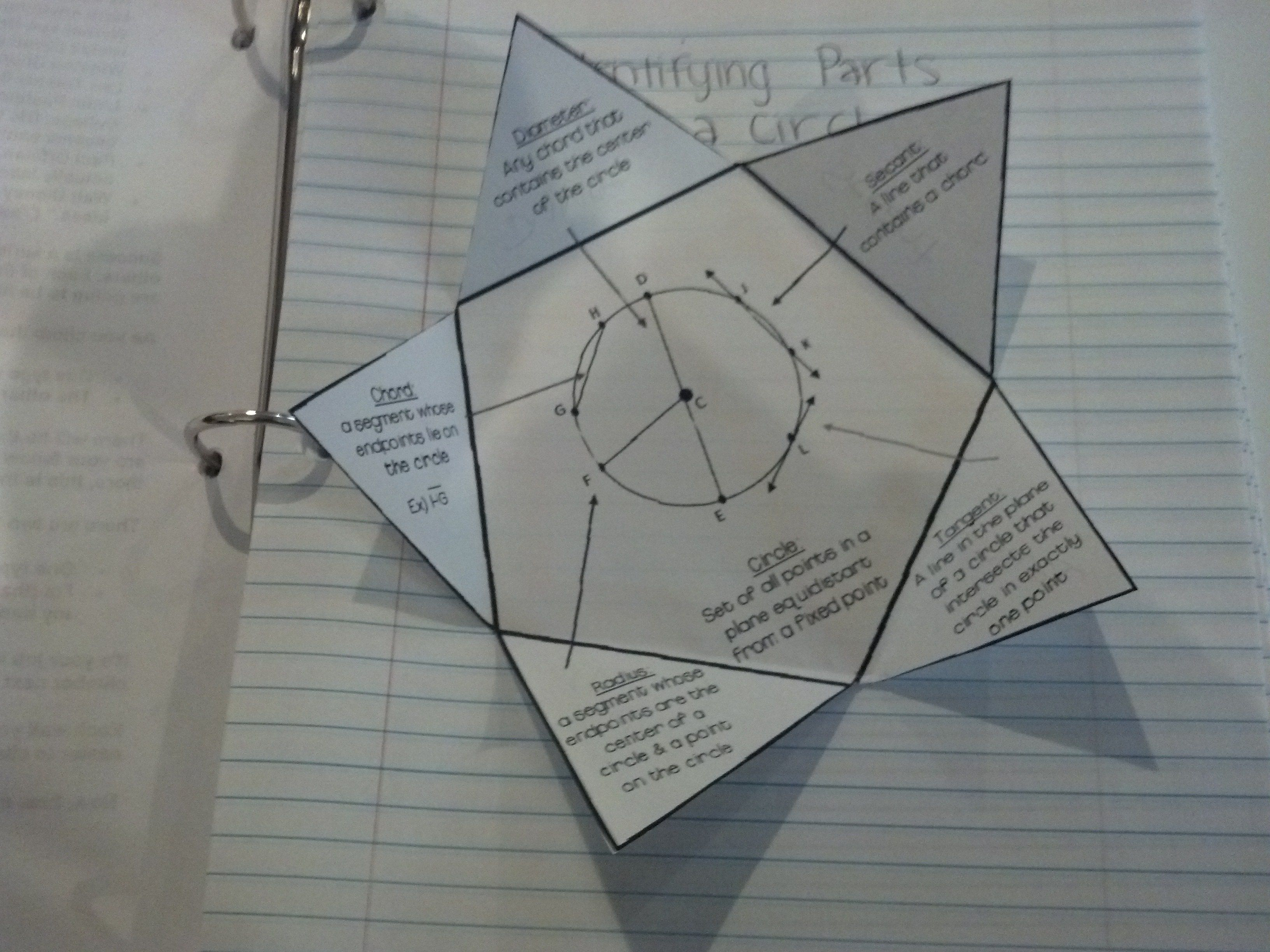 Parts Of A Circle Questions And Answers