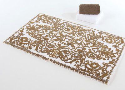 gold bath rugs | abyss habidecor perse gold bath mat rugs | house