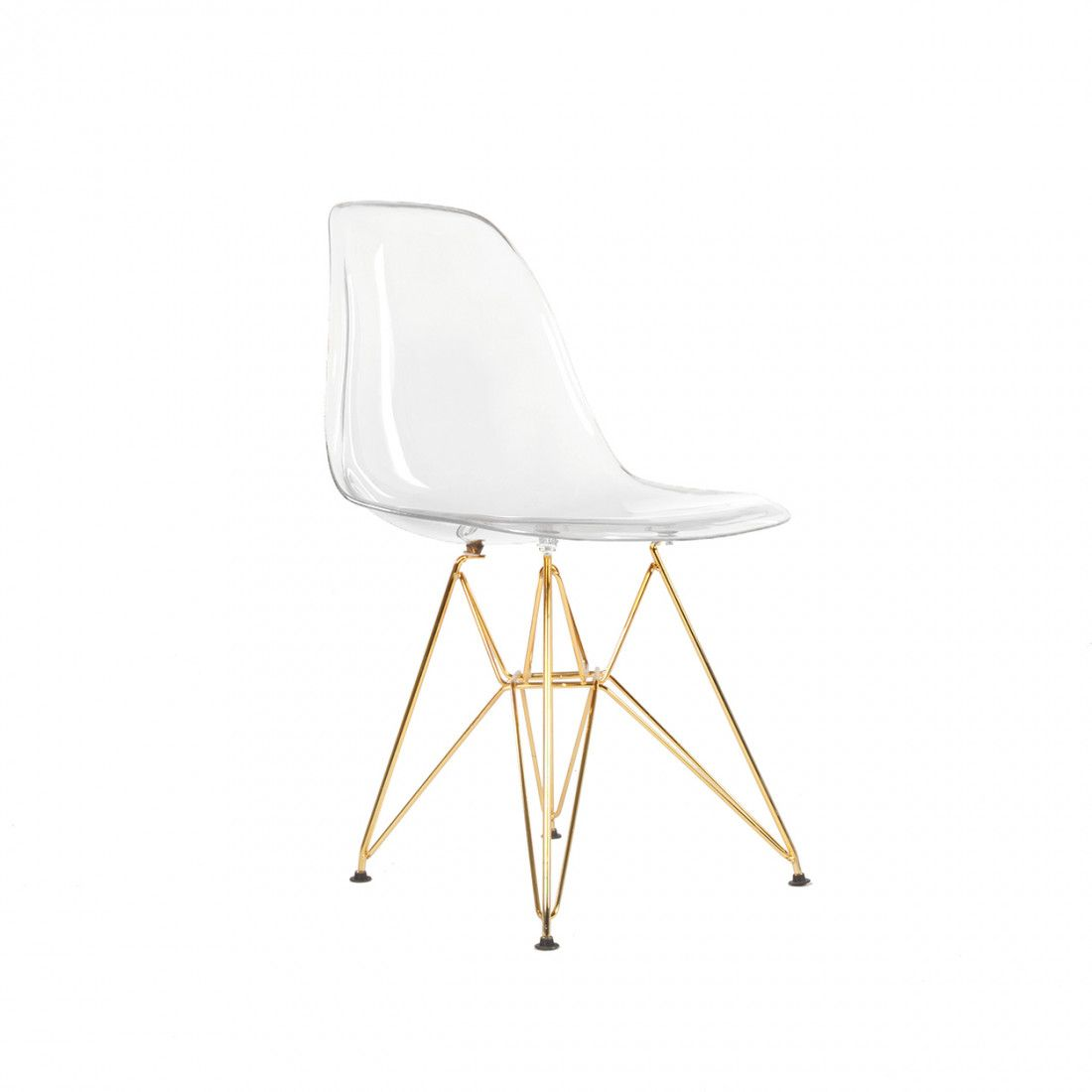 Dsr Plastic Molded Eiffel Dining Chair