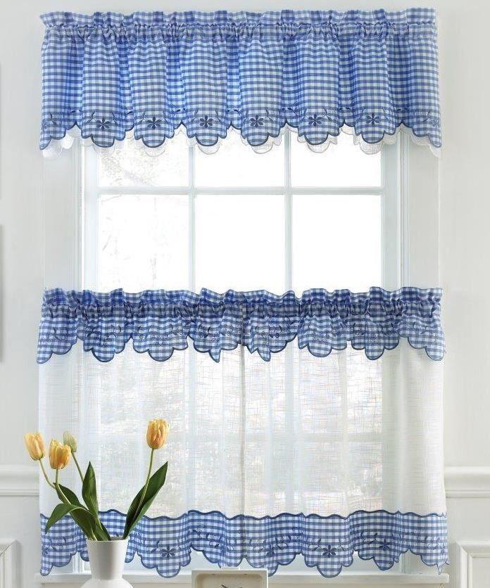 blue kitchen curtains home window kitchen curtains provence kitchen curtain home pinterest on farmhouse kitchen curtains id=30539