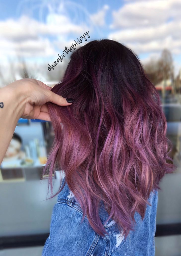 Sweet Mauve Hair Color Ideas You Should Try This Year haircolor