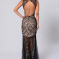 Beautiful open back black tie event dress this is beautiful for