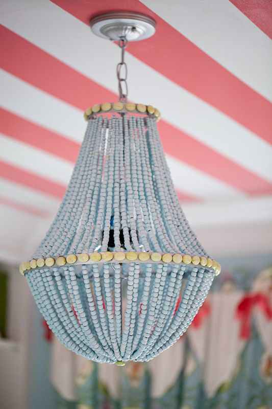 Upcycle A Plain Chandelier Into Beaded Showpiece
