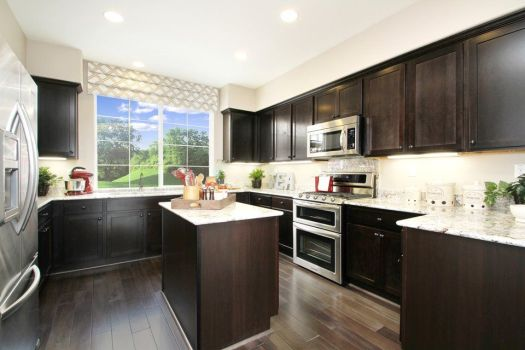 Looks Like Your Saddle Cabinets New Venetian Counters Pepper Lane By Pulte Homes Kitchen Mark S House Kitchens And View