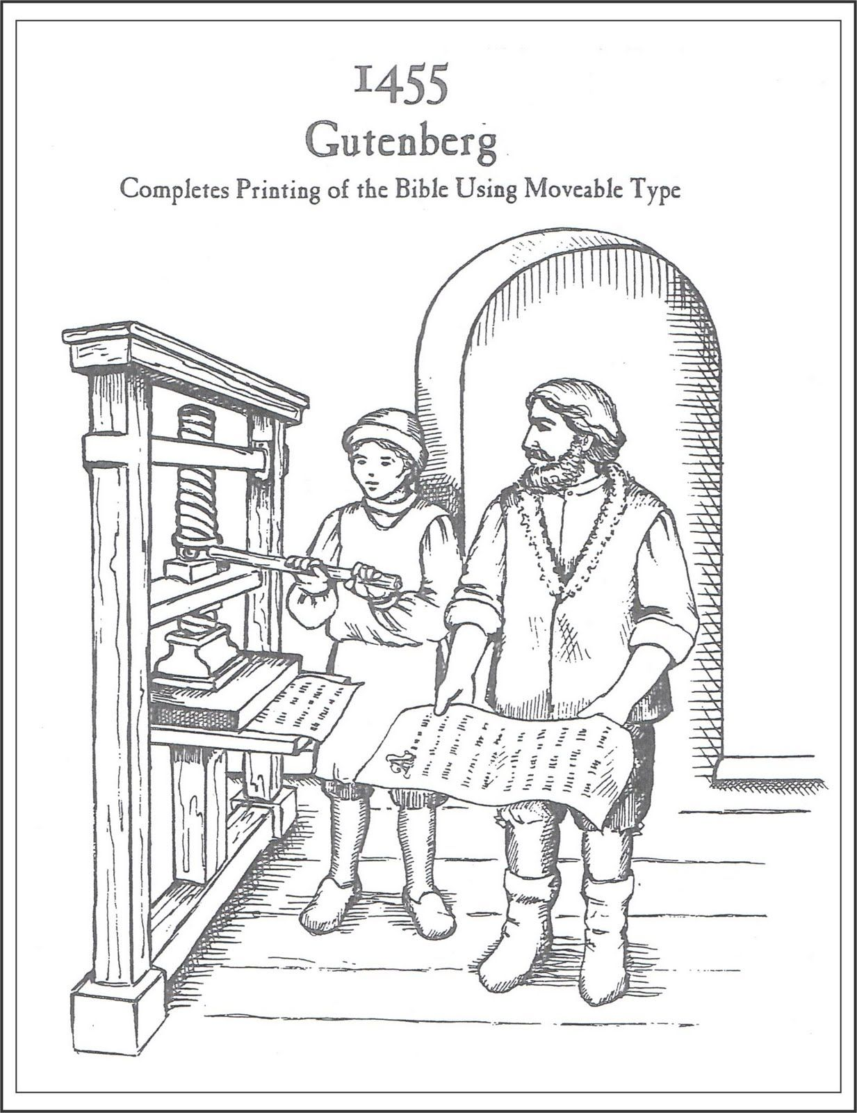 Mrs Jordan S History Class Gutenberg S Printing Press
