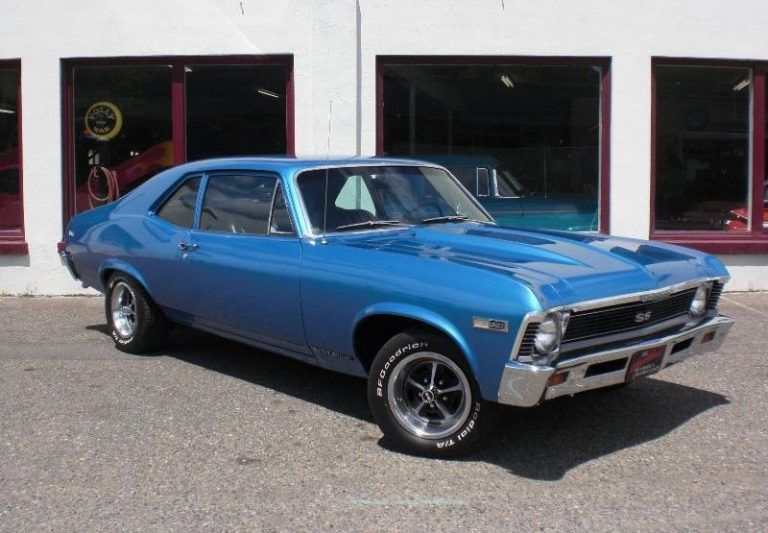 The 1968 Chevrolet Nova SS   Classic cars   Pinterest   Chevrolet     The 1968 Chevrolet Nova SS