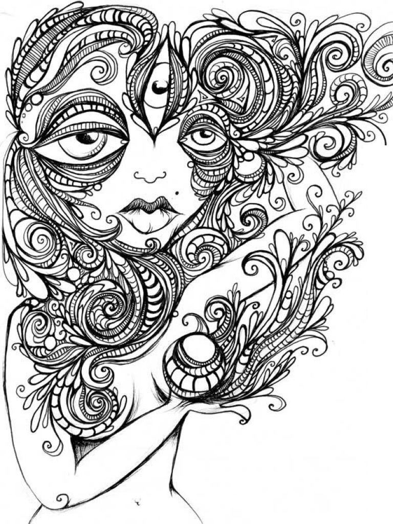 Image Result For Alien Printable Adult Coloring Pages C