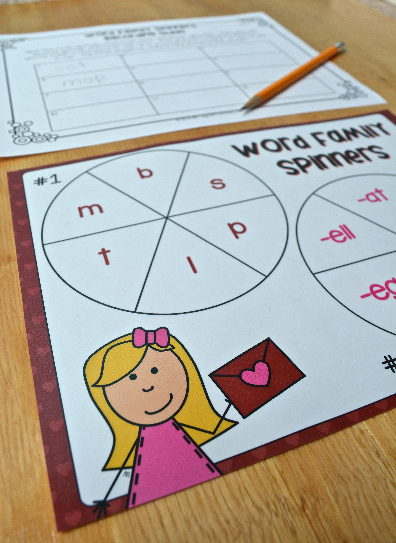Valentine S Day Kindergarten Literacy Worksheet