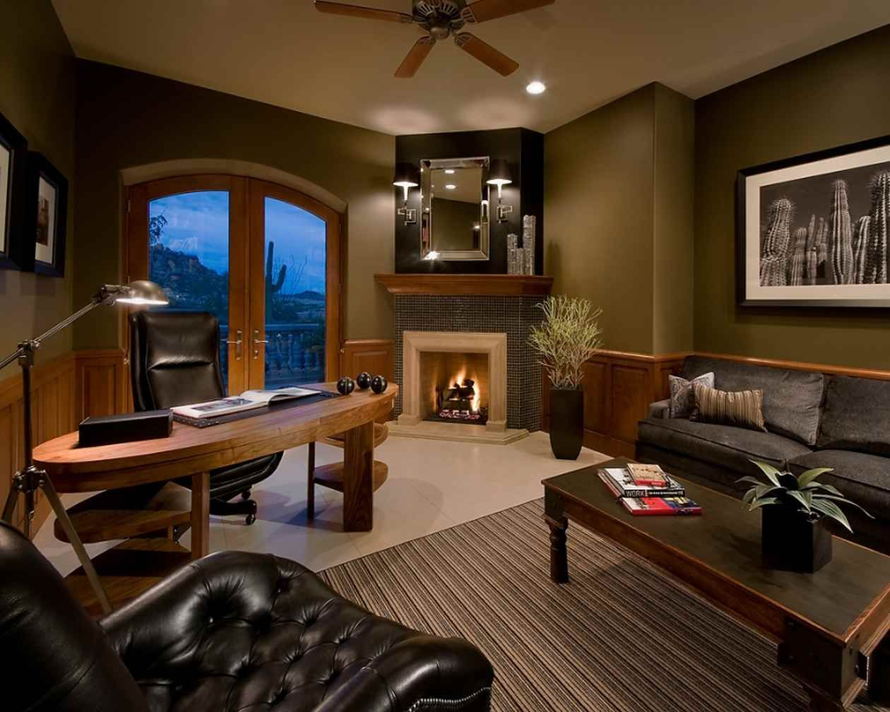 150 luxury modern home office design ideas photo on home office color ideas id=19826